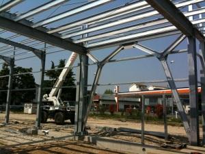 carpenteria metallica pesante e leggera